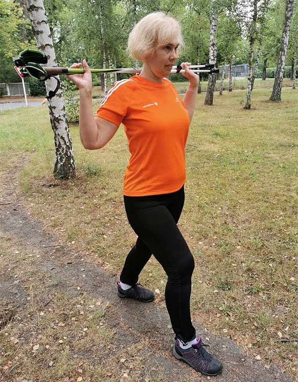 Nordic Walking - Dehnen