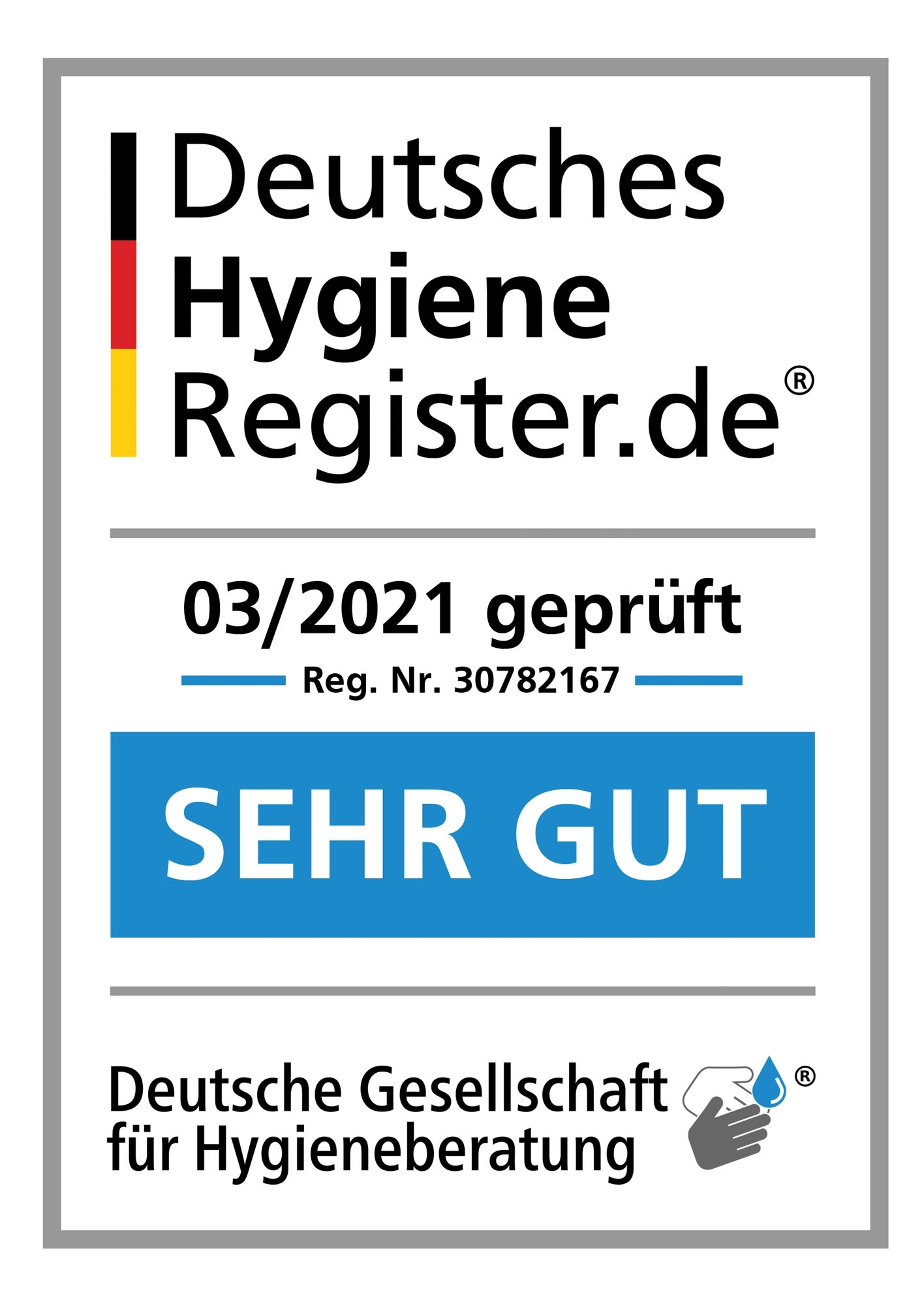 Logo Deutsches Hygiene Register